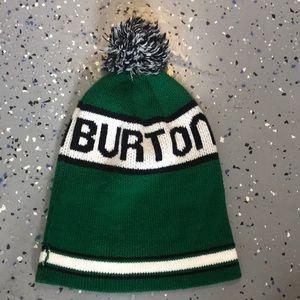 Burton Trope Pom Pom Beanie Ski Hat One Size EUC